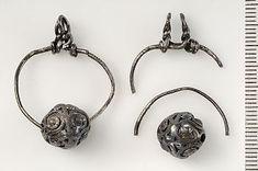 Birka, grave 557. Silver. Detail.