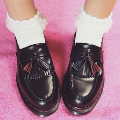 We looked to our Instagram followers to inspire us with their Dr. Martens shoe-sock combos. Here's what we learned...