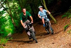 Mountain biking in the kelling heath holiday park