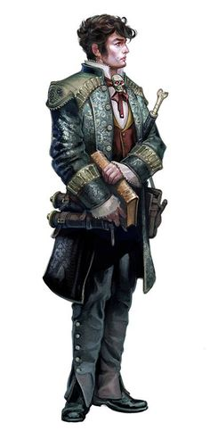 """evawidermann: """" Characters for the Pathfinder's Inner Sea Races © Paizo """""""