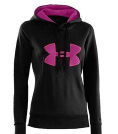 e372e9ce37ef Under Armour® Women s Armour® Fleece Storm Big Logo Hoodie