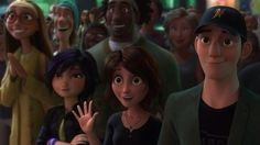 They're so proud of him. *tears* Look at Tadashi. :'(