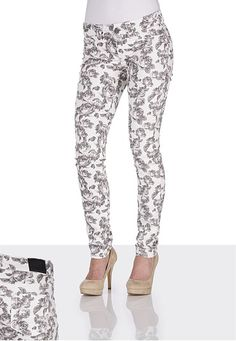 Maurices Denim Flex ™ Floral Print Jegging from Maurices 2012