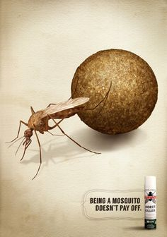 Spritex - Being a mosquito doesn't pay off - #Advert & #Animals