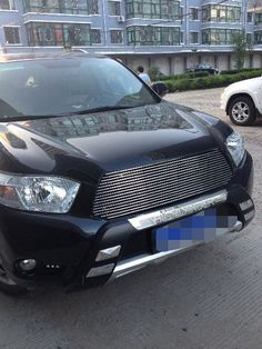 FITS TOYOTA HIGHLANDER 2008   2011 Billet Grille Grill Inserts-in Chromium Styling from Automobiles & Motorcycles on Aliexpress.com | Alibaba Group