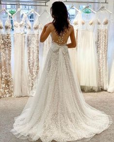 #MUSEbyBERTA Back goals Muse By Berta, Berta Bridal, Married Life, Here Comes The Bride, Bridal Looks, Tent, Wedding Gowns, Barcelona, Wedding Planning