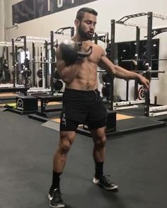 Single kettlebell flow! Clean, high pull, Snatch to windmill, good luck! - 5 Reps Each Side - 5 Rounds