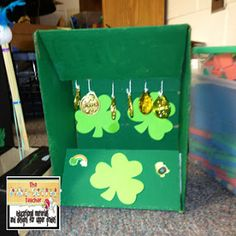 The Polka-dotted Teacher: Simple Machines and Leprechaun Traps