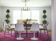See our best online interior design projects in different rooms, in every design style, across a wide range of budgets. Decorist online interior design is the easy and personalized, all for one low flat fee. Interior Design Courses Online, Dining Room Design, Dining Rooms, Dining Area, Dining Table, Home Trends, Best Dining, Fashion Room, Interiores Design