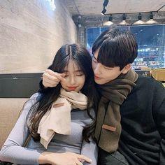 Couple Ulzzang, Korean Boys Ulzzang, Korean Girl, Kpop Couples, Teen Couples, Style Ulzzang, Ulzzang Girl, Cute Couples Goals, Couple Goals