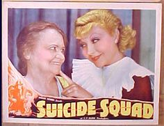 Joyce Compton in  Suicide Squad lobby card, with Aggie Herring.