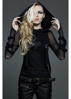 Punk Rave Tremere Top   Attitude Clothing