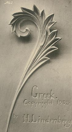 Acanthus-plate2-greek-lg | Flickr - Photo Sharing!