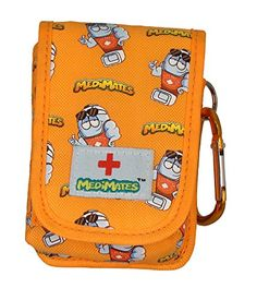 AllerMates  Small Medicine Case Orange ** Want to know more, click on the image.