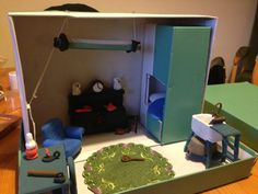 Single end tenement diorama in development