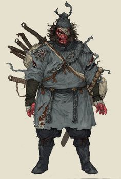 warrior, Yuankai Li on ArtStation at https://www.artstation.com/artwork/warrior-161fdc44-b46b-4ca3-99ed-b9514f8902b1