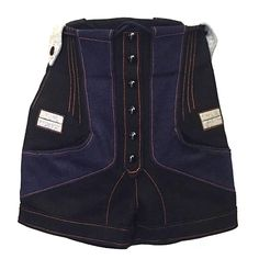 Balenciaga by Nicolas Ghesquiere shorts, Sz. XS | From a collection of rare vintage pants at https://www.1stdibs.com/fashion/clothing/pants/