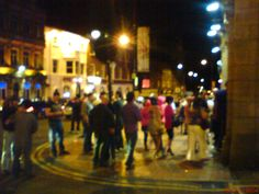 Westgate, Wakefield. Wakefield, Street View, Dark