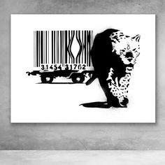 Fallen Angel Banksy Hi Res SINGLE CANVAS WALL ART Picture Print VA