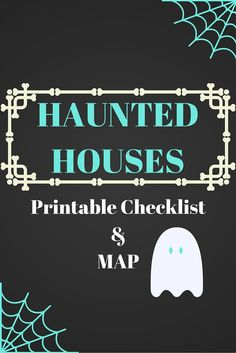 Haunted Houses! Find all the scary attractions this Halloween. Use this handy guide (and printable checklist) to find all the family friendly (and not so family friendly) haunted houses in Indiana.