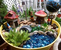 Fairy Garden Projects and Gnomes, Part 2, 2016