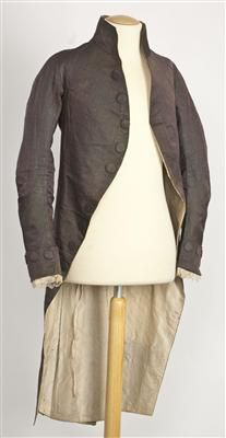 Coat (image 1) | Spain | 1785-1800 | silk | Textilteca CDMT | Museum #: 11610