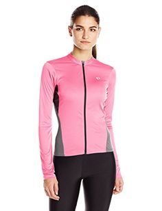 Pearl Izumi Ride Womens Select Long Sleeve Jersey Screaming PinkSmoked  Pearl Medium -- Continue to 60af29f15