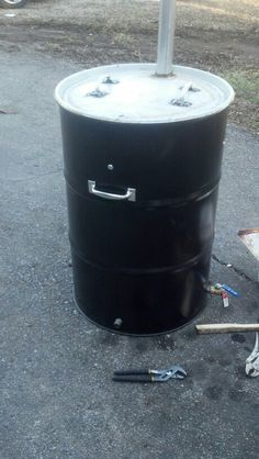Home Made Bbq Smoker,First Run,Works Awesome