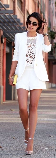 #streetstyle cool white dress