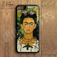 Frida Kahlo Plastic Case iPhone 6S 6 Plus 5 5S SE 5C 4 4S Case Ipod Touch 6 5 4 Case
