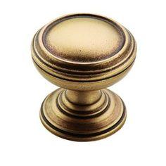 "Amerock - Revitalize - 1 1/4"" Circle Knob in Gilded Bronze"