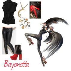 Bayonetta, created by elocinecko on Polyvore