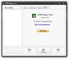 USB Image Tool 1.5.9 - Crie imagens das suas Pen's USB