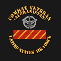 Check out this awesome 'USAF+-+Combat+Veteran+-+AFCAM+-+USAF+-+Afghanistan' design on @TeePublic!