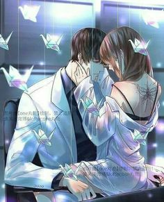 Anime Couples Art by one丸乾 - Romantic Anime Couples, Romantic Manga, Anime Cupples, Anime Kiss, Anime Couples Drawings, Anime Couples Manga, Desenhos Love, Cute Anime Coupes, Image Manga