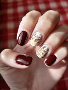 Autumn nails.