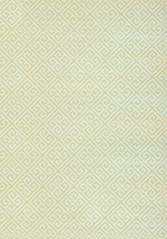 MAZE GRASSCLOTH, Metallic Gold on Aqua, T41195, Collection Grasscloth Resource 3 from Thibaut