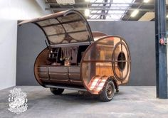 The plan was to build a teardrop trailer that Ronald Sponselee could could rent out in the summer, but now that he's almost finished with the build, the owner of The Love bird Company has had a change of heart. The little camper is just too pretty to be handed over to strangers, so instead …