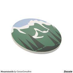 Mountainside Beverage Coaster