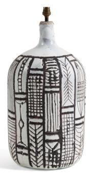 Roger Capron - 50s ceramic Table lamp