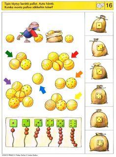 Piccolo: blokken 2 kaart 16 Brain Activities, Preschool Activities, File Folder Activities, 4 Year Olds, Math Worksheets, Speech And Language, Speech Therapy, Kindergarten, Printables
