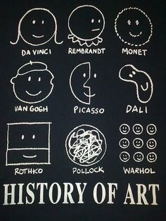 History of Art. [it's cool cause i get the references now, after taking a history of inellectual thought course]