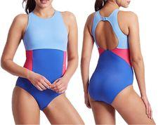 e55bdfb5d7 M amp S COLLECTION Secret Slimming High Neck Colour Block Swimsuit PRP  29.50  fashion