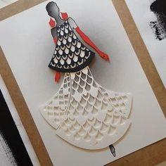 Fashion Illustration Tutorial, Fashion Illustration Collage, Fashion Drawing Tutorial, Fashion Illustration Dresses, Jewelry Illustration, Fashion Collage, Fashion Design Sketchbook, Fashion Design Portfolio, Fashion Design Drawings