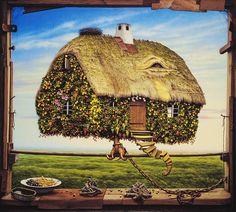 Paintings by Jacek Yerka | Cuded