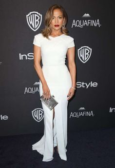 Jennifer Lopez attends Warner Bros. and InStyle's 2016 Golden Globe Awards afterparty at the Beverly... - Matt Sayles/Invision/AP