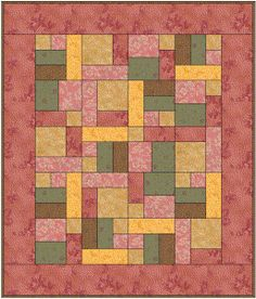 @Lisa V This is the yellow brick road pattern, and you can see the block shapes on it.