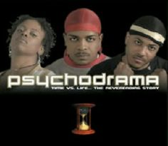 """Psychodrama is a Chicago hip hop group best known for its 1996 single """"Magic"""" (from the albumGreatest Hits) and """"Horrible Terrible"""" (from the albumTime Vs Life). The members of Psychodrama are Buk, Psyde FX, and Newsense. They frequently collaborate with fellow Chicago rappers Triple Darkness."""