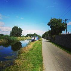 Grand Canal near Celbridge, Kildare, Ireland