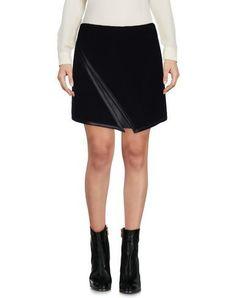 NEIL BARRETT Mini Skirt. #neilbarrett #cloth #dress #top #skirt #pant #coat #jacket #jecket #beachwear #